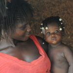 africa mother daughter